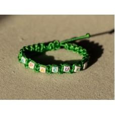 Apacuka karkötő - zöld