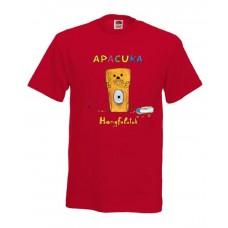 Apacuka póló - Hangfalatok - piros